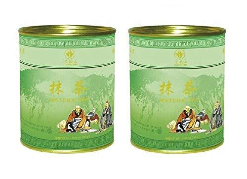 Pamai Pai® Doppelpack: 2 x 80g Matcha Tee Grünteepulver Matchapulver Grüntee Pulver