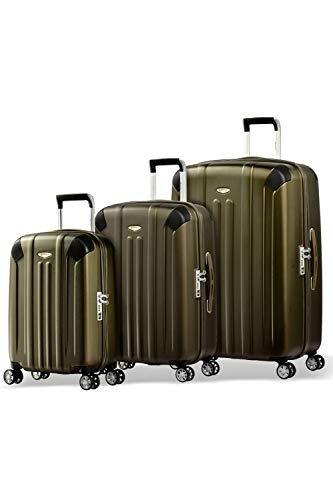 Eminent Koffer-Set Boulder 3 teilig 1x Handgepäck Koffer Gr. S & je EIN Koffer Hartschale Größe M + L super leicht extra Eckenschutz Anti-Kratz-Hartschale...