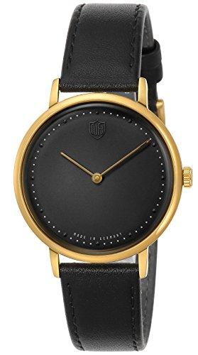 [ドゥッファ] 腕時計 GROPIUS2hands DF-9020-01 メンズ 正規輸入品 ブラック