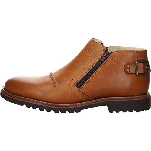 Kim Kay Herren Stiefelette Boots braun Gr. 44