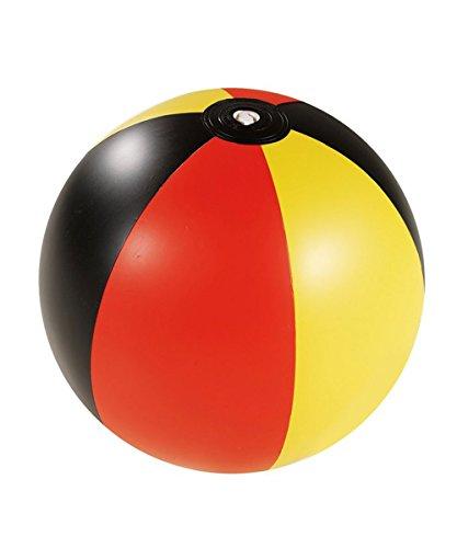 Wasserball Deutschland Design Strandball Schwarz Rot Gelb Fussball Europameisterschaft 2016