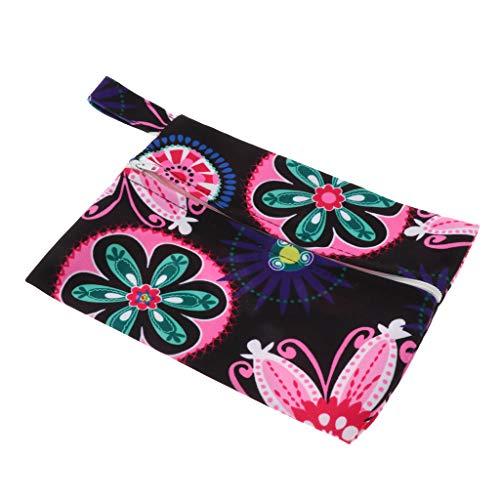 dailymall Wasserdichte Aufbewahrungstasche Damenbinde Lagerung Beutel Damen-Hygieneartikel Tasche, Reißverschluss Design - 05