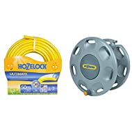 Anti -kink and crushproof hose with Super Tricoflex(TM) Technology Flexible, light and easy to handle Supple and soft whilst remaining robust Weather proof with UV and frost protection Wall mounted hose reel with capacity of 60 m of 12.5 mm hose Quic...