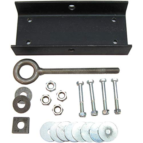Ceiling Beam Swing Suspension Kit for Tire Swings and Single-Point Suspension Equipment - 2x6, Holds up to 500 lbs - Includes all Necessary Hardware for Professional Installation and Directions