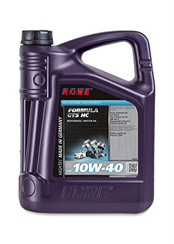 ROWE HIGHTEC FORMULA GTS SAE 10W-40 HC, 5 Liter