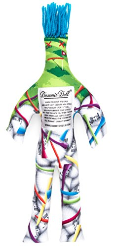 Dammit Doll - Dammit Sports - Dammit Golf Doll - Stress Relief - Gag Gift