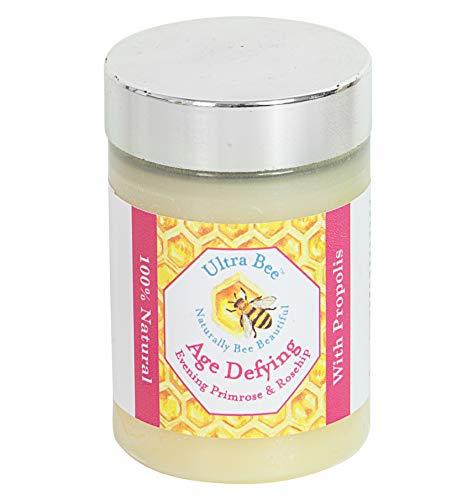 Baume anti-âge pour le visage au miel, primevère, églantier et jojoba 100% naturel 100ml