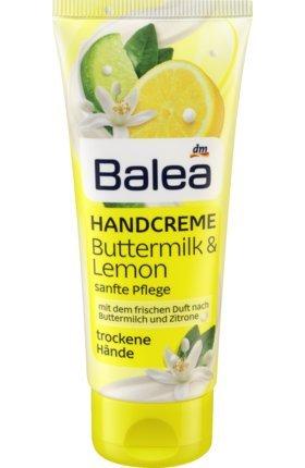 Balea Handcreme Buttermilch Zitrone, 100 ml