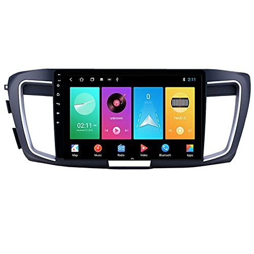 ADMLZQQ Autoradio Android Bluetooth 2 DIN Radio De Coche 10.1'' Pantalla Táctil WiFi Plug and Play Completo RCA Soporte Carautoplay/GPS/Dab+/OBDII para Honda Accord 9 CR 2012-2016,M100s