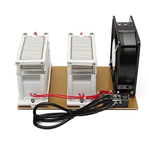 220V Portable Ozon Generator, Household Car Air desinfectie, sterilisatie Formaldehyde Geurverwijdering, 20G ozonreiniger voor DIY van ervaren persoon