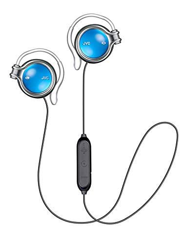 JVC HA-AL102BT ワイヤレスイヤホン 耳掛け式/Bluetooth ブルー HA-AL102BT-A