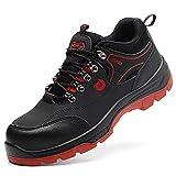 Botas de Seguridad para Hombre con Puntera de Acero, Zapatos Militares, Zapatos indestructibles, Zapatos para Hombre, Color, Talla 42 EU