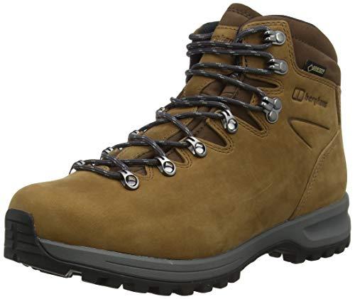 Berghaus Damen Fellmaster Ridge Gore-tex Tech Boot Trekking- & Wanderhalbschuhe, Braun (Butternut X08), 40.5 EU