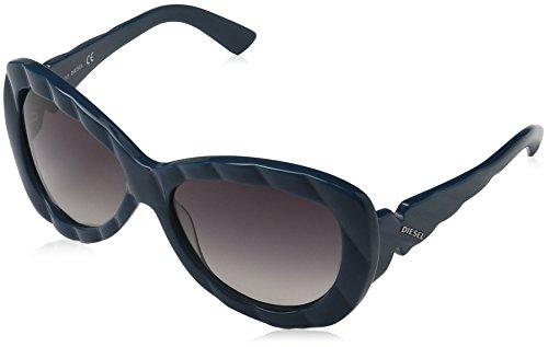 Diesel dames zonnebril DL5010, bruin (lichtbruin 048), medium