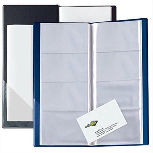 SEI Rota Eco Visita - Carpeta para tarjetas de visita, color negro
