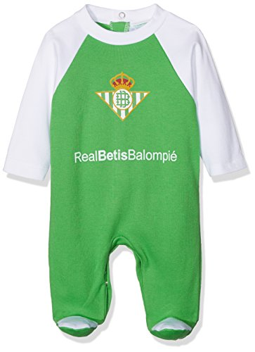 Real Betis Balompié pelbet Tutina, bebé-Niños, 08PEL02-18, Multicolore (Verde/Bianco), 18