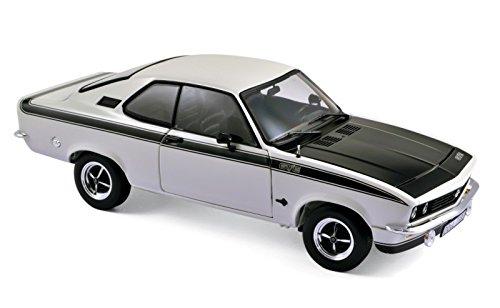 Norev–183634–Opel Manta GTE –1975– Maßstab 1:18–Weiß/Schwarz