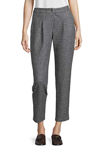 Betty Barclay 5624/9608 Pantaloni, Multicolore (Black/Grey 9893), 50 (Taglia Produttore: 44) Donna