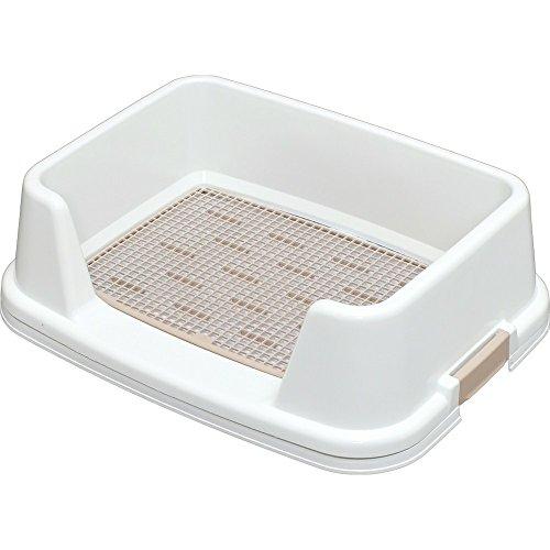 アイリスオーヤマ トレーニング犬トイレ ホワイト レギュラーサイズ用 ワンサイズ (x 1)