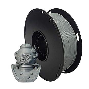 NOVAMAKER ABS Filament 1.75mm Grey ABS 3D Printer Filament 1kg Spool 2.2lbs  Dimensional Accuracy +/- 0.03mm Fit FDM 3D Printer and 3D Pen