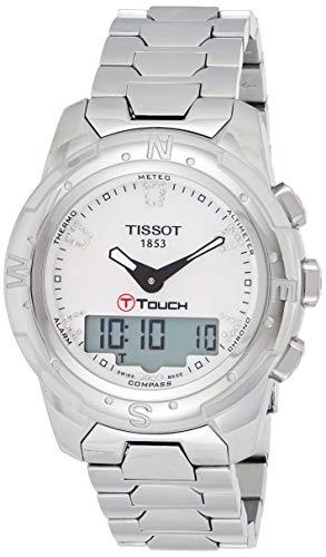 Tissot Reloj Analógico-Digital para Mujer de Cuarzo con Correa en Acero Inoxidable T047.220.44.116.00