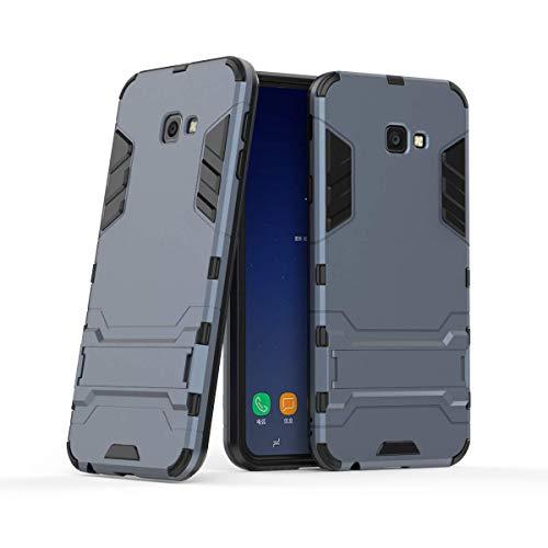 Samsung Galaxy J4+ / J4 Plus Funda, FoneExpert® Heavy Duty Silicona Slim híbrida con Soporte Cáscara de Cubierta Protectora de Doble Capa Funda Caso Cover para Samsung Galaxy J4+ / J4 Plus