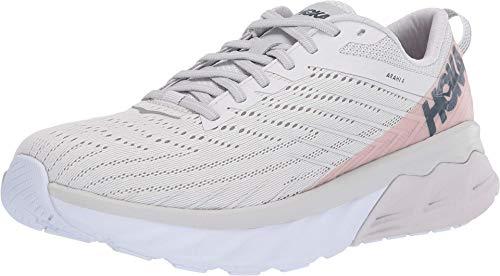 HOKA ONE ONE Arahi 4 - Zapatillas de correr para mujer, (Nube de Nimbus/Roca Lunar), 39.5 EU