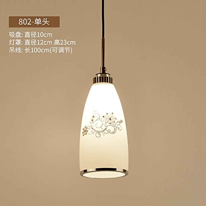 BESPD Modernen minimalistischen Stil kreative Kronleuchter Deckenlampe Hngeleuchte-802 Single 9 Watt weies Licht