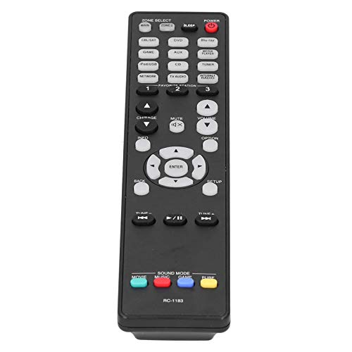 Pwshymi Langlebiger Kleiner TV-Controller LCD-TV-Controller RC-1183 Leichte, Innovative Tastatur als Ersatz für LCD-Fernseher verschiedener Marken