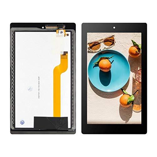 Kit de repuesto de pantalla compatible con Amazon Kindle Fire HD7 HD 7 2017 7.0 pantalla LCD táctil digitalizador de montaje de herramientas gratuitas Kit de reparación de pantalla (color: negro)