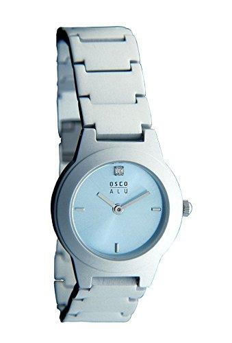 OSCO ALU Damen-Armbanduhr Aluminium 3107