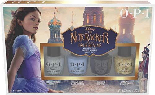 OPI Nagellack Nutcracker Collection Mini,1er Pack (4 x 3.75 ml)