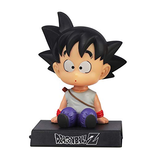 Goku Phone Bracket, Goku Shaking Head Car Decoration, Dragon Ball Z Home Decoration, Goku Decor for Home,Car,Party Cake