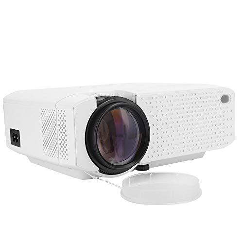 HD WiFi LCD Projector, WVGA 800x480P Manual Focus Portable Projector, Mini Built-in Dual Speakers LCD Projector, USB WiFi Home Theater Projector, Best Gift