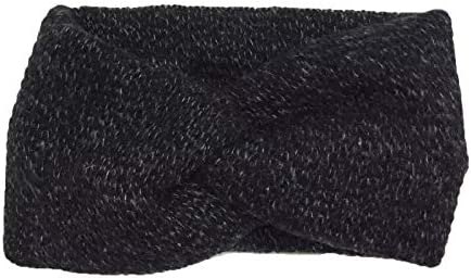 Vogue Hair Accessories Soft Knot Woolen Knitted Warm Head Band Head Wrap Hairband Ear Warmer Hair Accessories for Win...