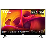 TCL 80 cm (32 inches) HD Ready Certified Android Smart LED TV 32P30S (Black)