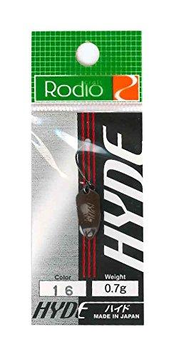 Rodiocraft(ロデオクラフト) ルアー HYDE(ハイド) 0.7g #16チョコレート スプーン