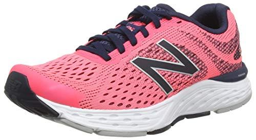 New Balance 680v6, Zapatillas para Correr de Carretera para Mujer, Guayaba, 40.5 EU