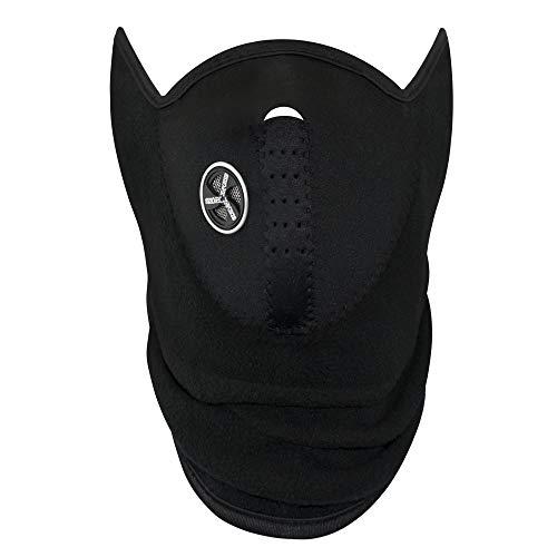 TRIXES–Sport–Máscara facial, Balaclava y Exterior Guantes para esquiar, motocicleta, deportes, disfraz, larga Braga