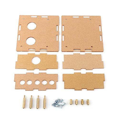 Walfront transparante acrylhoes 6J1 hoofdtelefoonversterker versterker pre-amp buis case 91 * 89 * 37.6mm