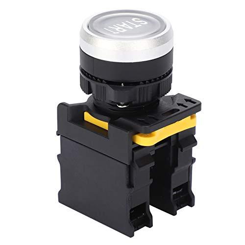 Botón de Inicio,estación de interruptor de botón pulsador 10A 220V Inicio Equipo eléctrico de botón de emergencia impermeable para el hogar