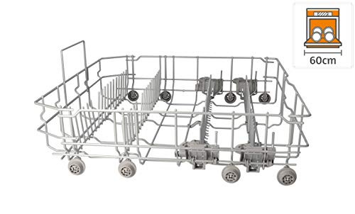 DREHFLEX - KORB44 - Geschirrkorb/Korb UNTEN für diverse Spülmaschinen aus dem Hause Bosch/Siemens/Neff/Constructa - passt für Teile-Nr. 20000273
