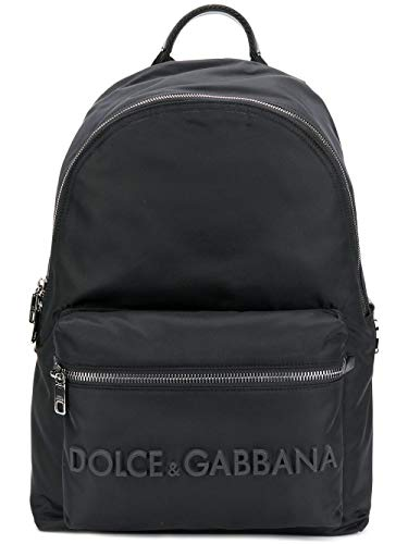 Moda De Lujo   Dolce E Gabbana Hombre BM1607AZ6758B956 Negro Poliamida Mochila   Primavera-verano 20