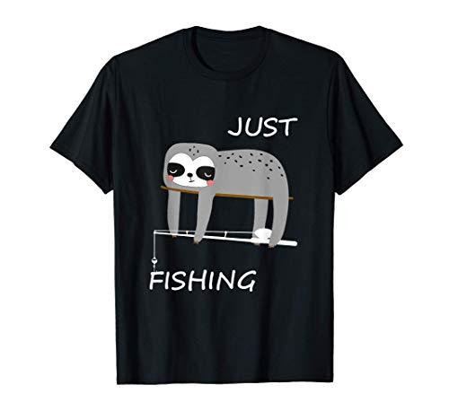 Regalo divertido del pescador perezoso para pescador Camiseta