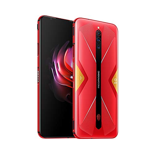Nubia RedMagic 5G Game Mobile Phone 8GB RAM 128GB ROM Snapdragon865 6.7' 64MP 4500mAh NFC Android 10 Smartphone