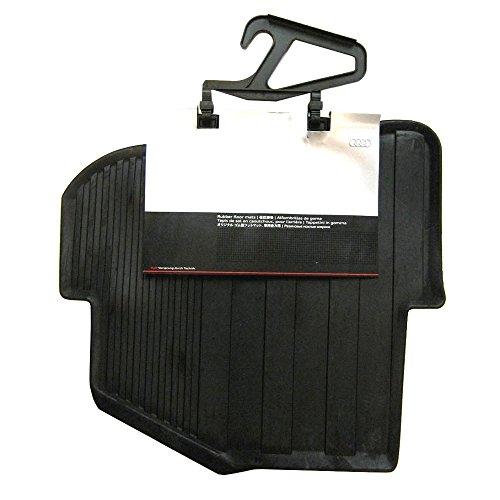 Audi 8X0 061 511 041 Gummifußmatten für hinten, schwarz