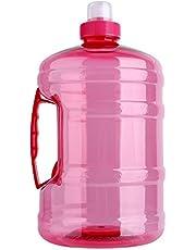 Nicoone Su haznesi 2 l büyük BPA içermeyen su şişesi, saplı kapaklı, su ısıtıcısı, antrenman partisi, içme, dış mekan sporu, kamp, piknik için