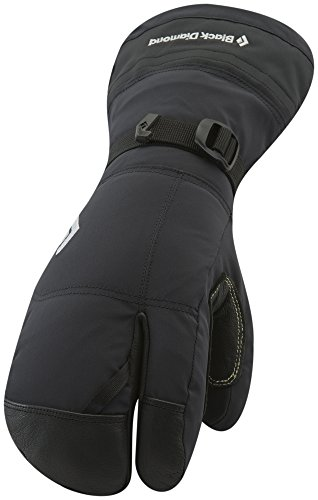 Black Diamond Soloist Finger Cold Weather Gloves, Black, Medium
