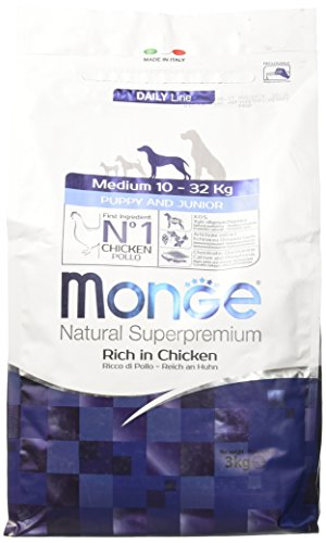 MONGE NATURAL SUPERPREMIUM Hund Medium Puppy Hundefutter