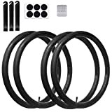 Best 26 Mountain Bike Tires - Calvana (4 Pack) 26'' x 1.75/2.125 Replacement Inner Review